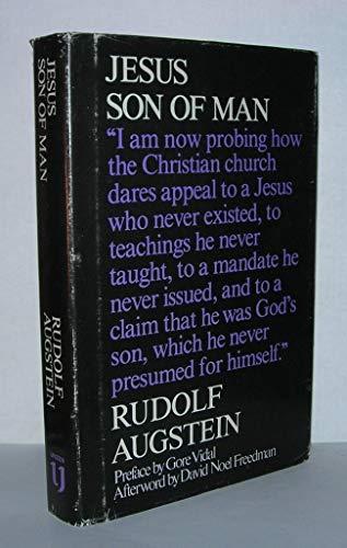Jesus, Son of Man By Rudolf Augstein