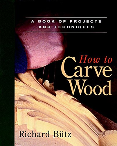 How to Carve Wood: A Book of Projects and Techniques (Fine Woodworking Book) By Rick Butz