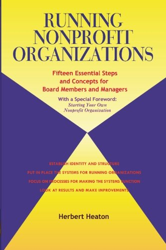 Running Nonprofit Organizations By Herbert Heaton