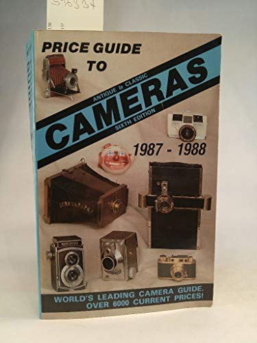 Price Guide to Collectable Cameras 1987-88 By Volume editor James M. McKeown