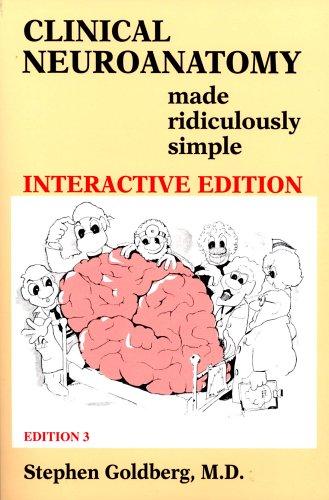 Clinical Neuroanatomy Made Ridiculously Simple By Stephen Goldberg