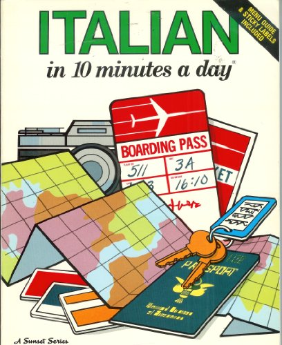 Italian in 10 Minutes a Day By Kristine K. Kershul