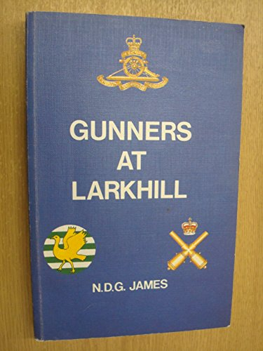 Gunners at Larkhill by N.D.G James
