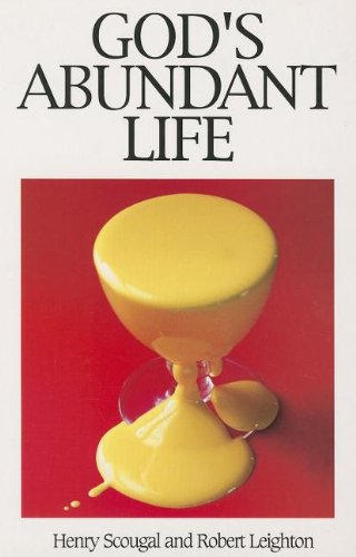 God's Abundant Life By Henry Scougal