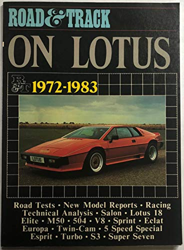 """Road & Track"" on Lotus, 1972-83 By Edited by R. M. Clarke"