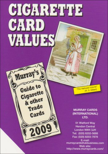 Cigarette Card Values 2009 (Price Catalogue) By Murray Cards International Ltd.