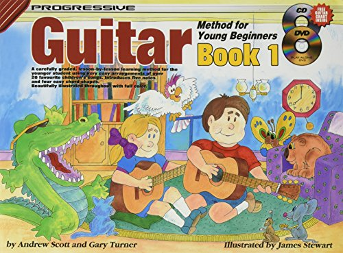 Progressive Guitar Method for Young Beginners By Andrew Scott
