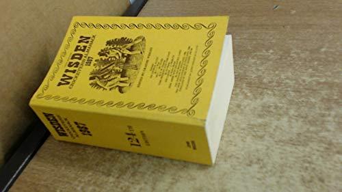 Wisden Cricketers' Almanack By Volume editor Graeme Wright