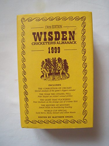 Wisden Cricketers' Almanack: 1999 by Matthew Engel