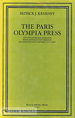 The Paris Olympia Press By Patrick J. Kearney