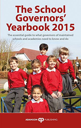 The School Governors' Yearbook By Volume editor Stephen Adamson