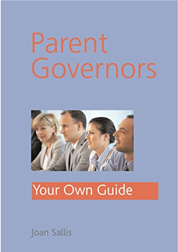 Parent Governors By Joan Sallis