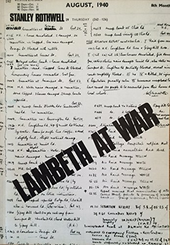 Lambeth-at-war-by-Rothwell-Stanley-Book-The-Cheap-Fast-Free-Post