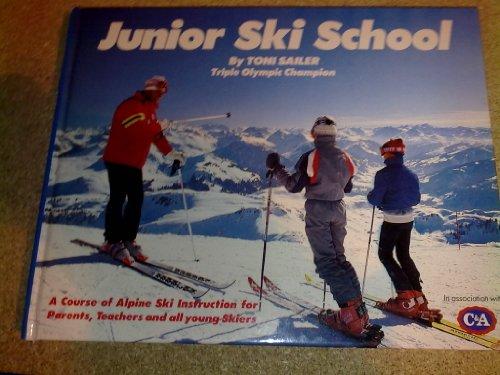 Junior Ski School By Tony Sailor