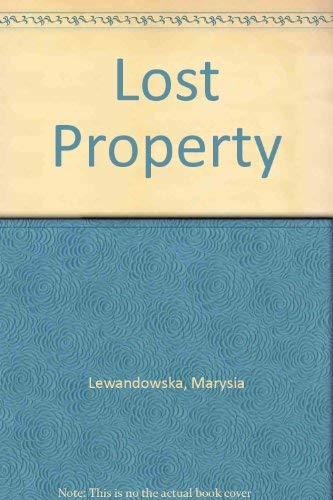 Lost Property By Marysia Lewandowska