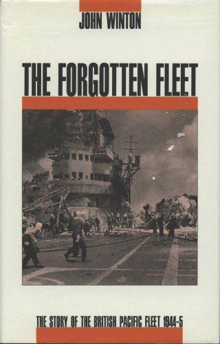 The Forgotten Fleet: Story of the British Pacific Fleet, 1944-45 By John Winton