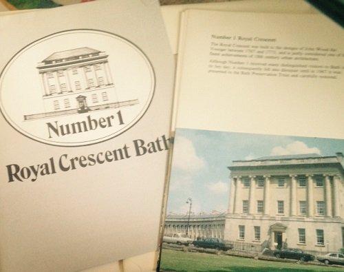 No. 1 Royal Crescent Guide Book