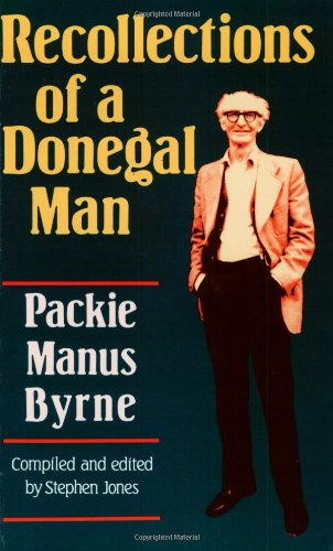 Recollections of a Donegal Man by Jones, Stephen Paperback Book The Fast Free