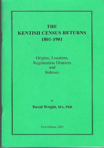 The Kentish Census Returns 1801-1901 By David Alan Wright