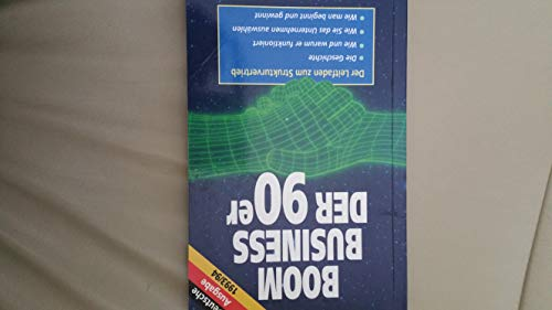 Boom Business of the 90s: Essential Start-up Guide to Network Marketing By Francis Hitching