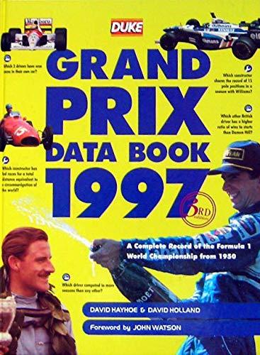 Grand Prix Data By David Hayhoe