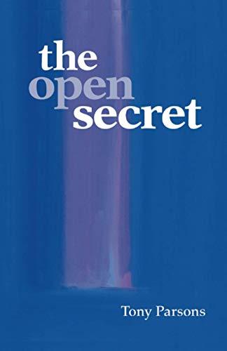 Open Secret By Tony Parsons