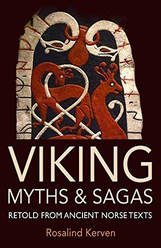 Viking Myths & Sagas By Rosalind Kerven