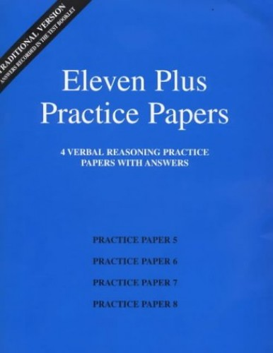 Eleven Plus Practice Papers 5 to 8 By AFN Publishing