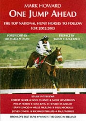 One Jump Ahead: The Top N.H. Horses to Follow: 2003 by Mark Howard