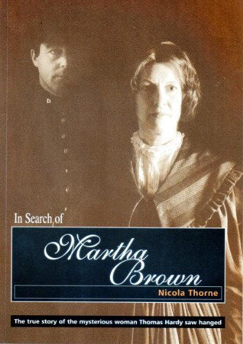 In Search of Martha Brown By Nicola Thorne