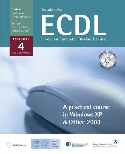 Training for ECDL By Paula Kelly