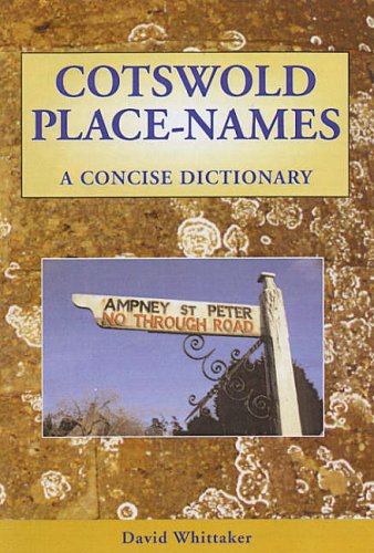Cotswold Place - Names By David Whittaker