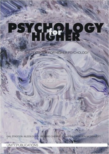 Psychology for Higher By Gail Staddon