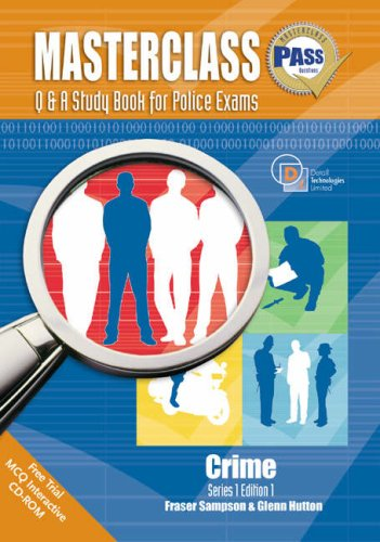 Masterclass Q and A Study Book for Police Exams By Fraser Sampson