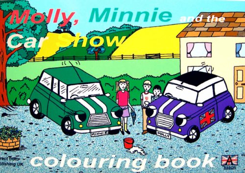 Molly, Minnie and the Car Show Colouring Book by Alison Orchard-Hammill