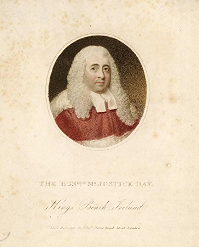 Mr Justice Robert Day (1746-1841) By Gerald O'Carroll