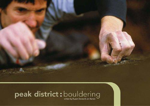 Peak District Bouldering By Rupert Davies