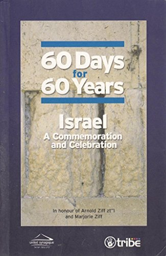 60 Days for 60 Years Israel - A commemoration and Celebration (60 Days for 60 Years) By Fiona Palmer