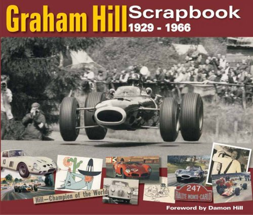 Graham Hill Scrapbook 1929 -1966 By Philip Porter
