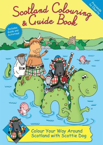 Scotland Colouring & Guide Book By Rachel Thomas