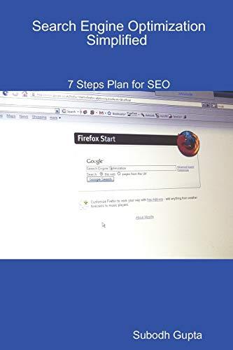 Search Engine Optimization Simplified By Subodh Gupta