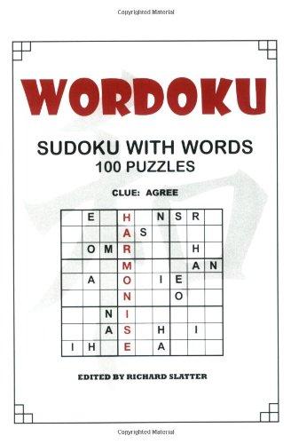 Wordoku By Richard Charles Slatter
