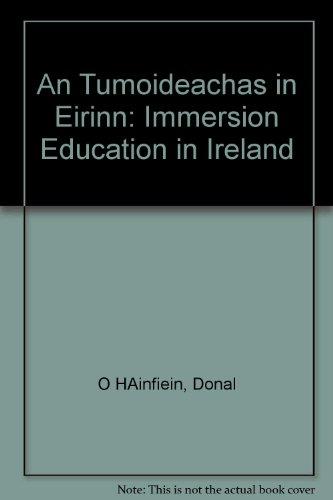 An Tumoideachas in Eirinn By Donal O HAinfiein