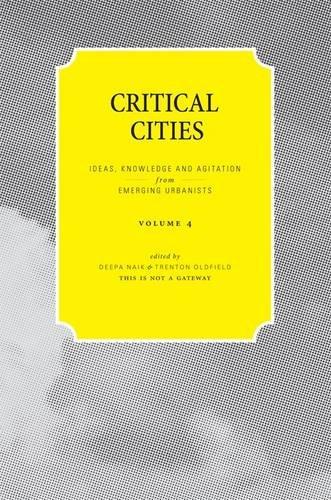 Critical Cities By Deepa Naik