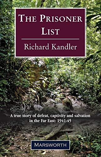 The Prisoner List By Richard Kandler