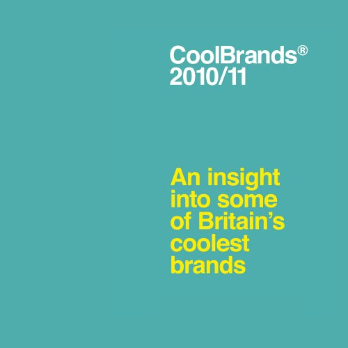 Coolbrands By Superbrands (UK) Ltd