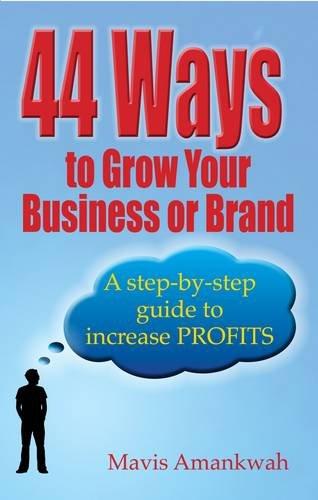 44 Ways to Grow Your Business & Brand By Mavis Amankwah