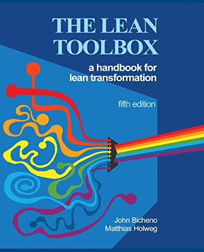 The Lean Toolbox 5th Edition By John R Bicheno