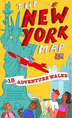 Adventure Walks New York Map By Becky Jones