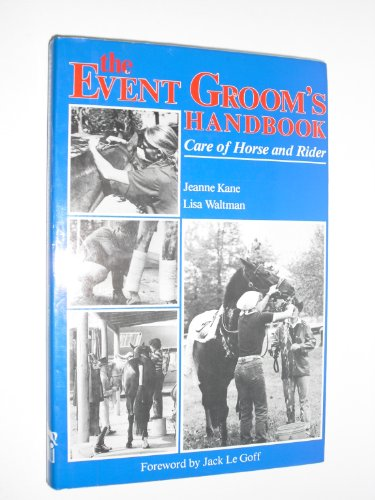 The event groom's handbook By Jeanne Kane